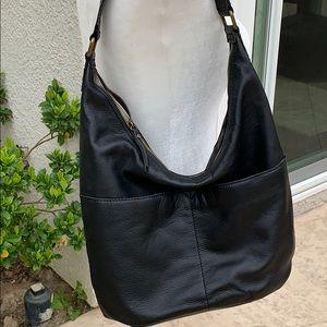 American Leather Co. Glove Hobo Handbag